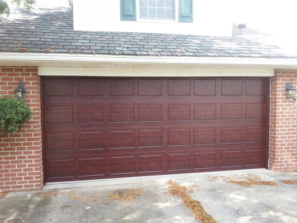 Our work for Raynor centura garage doors
